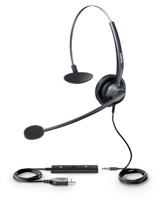 Professional Yealink USB Headset YHS33 - Even Flow Distribution