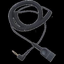 Curly Cord QD-2.5mm