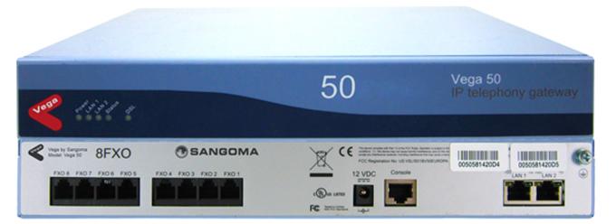 Sangoma Vega 50 Media Gateway - Even Flow