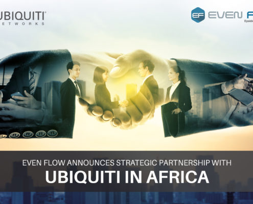 Ubiquiti & Even Flow Partnership